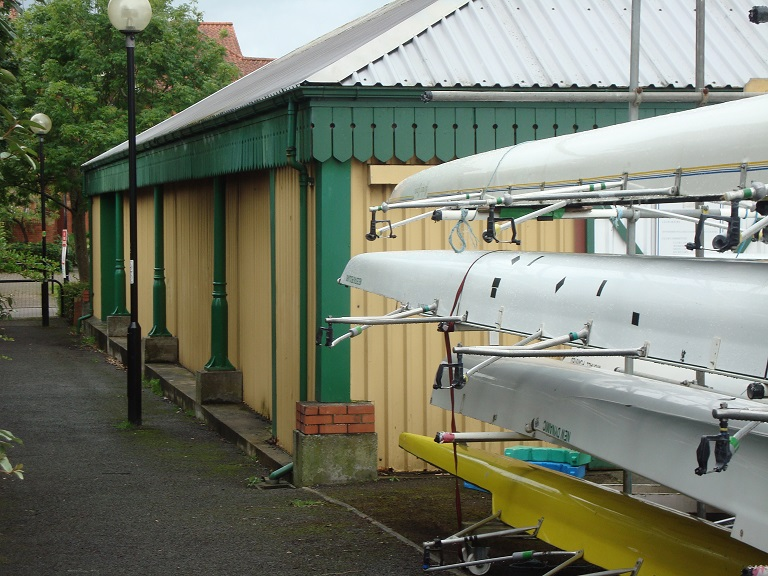 Albion boathouse