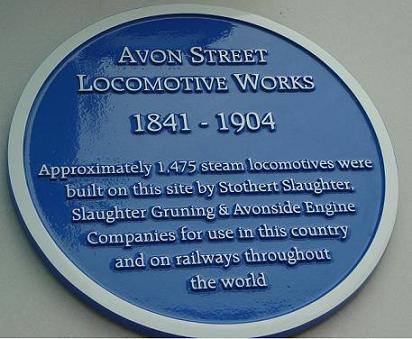 Avonside plaque