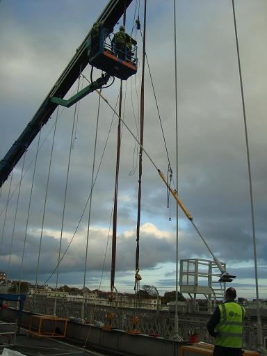 Suspension Bridge Hangers