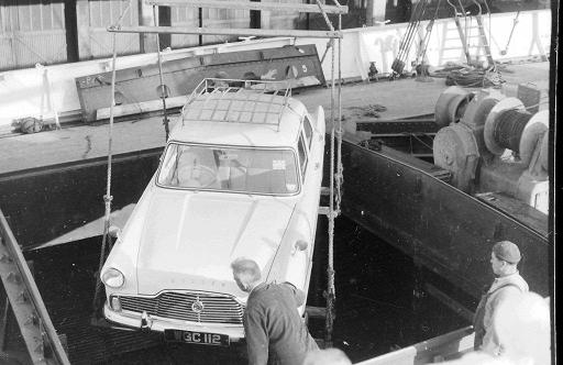 loading Ford Zodiac