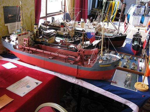 Tambling ship models